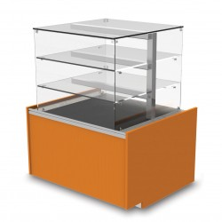 Vitrine neutre - Version tour viennoiserie - YSTV - Long. 555 mm