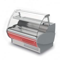 Vitrine réfrigérée - Ventilée avec réserve - PTR - Long. 1500 mm