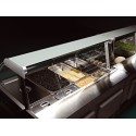 Vitrine réfrigérée ventilée - Version Saladette - PTRSL - Long. 1050 mm