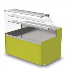 Vitrine réfrigérée - Statique sans réserve - YRSS - Long. 1290 mm