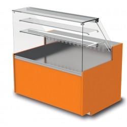Vitrine réfrigérée - Statique avec réserve - YRTS - Long. 1290 mm