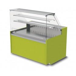 Vitrine réfrigérée - Ventilée sans réserve - YRSV - Long. 890 mm
