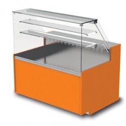 Vitrine réfrigérée - Ventilée avec réserve - YRTV - Long. 1290 mm