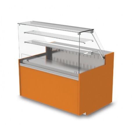 Vitrine réfrigérée positive - Ventilée sans réserve - YSRSV - Long. 2090 mm