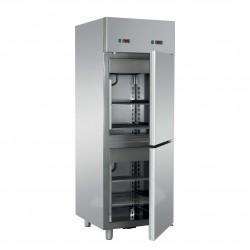 Armoire pâtissière - 2 portillons - Double température - 700 litres - Eva - APV072NP