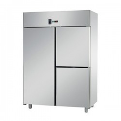 Armoire pâtissière - 1 porte + 2 portillons - Négative ventilée - 1400 litres - Eva - APV143N