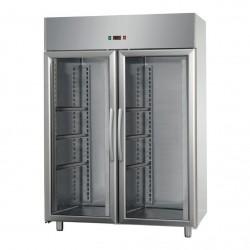 Armoire pâtissière - 2 portes vitrées - Négative ventilée - 1400 litres - Eva - APV14VN
