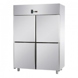 Armoire pâtissière - 4 portillons pleins - Double température - 1400 litres - Eva - APV144NP