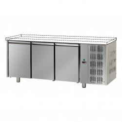 Table réfrigérée pâtissière - Groupe logé - Sans dessus - 3 portes - Eva - TPB30GLO