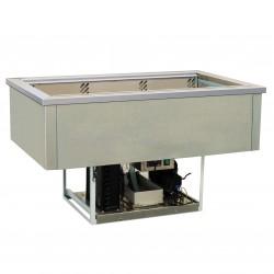 Cuve réfrigérée 3 bacs GN 1/1 - Froid ventilé - GNCV - GN3CV