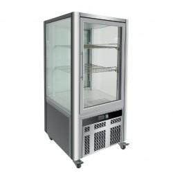 Vitrine réfrigérée positive - 4 faces vitrées - 200 L - LSC - LSC200