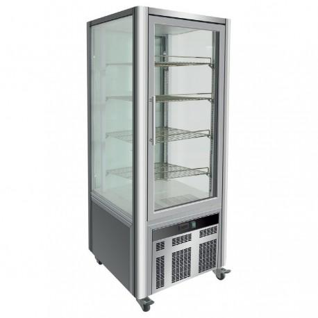 Vitrine réfrigérée positive - 4 faces vitrées - 408 L - LSC - LSC408