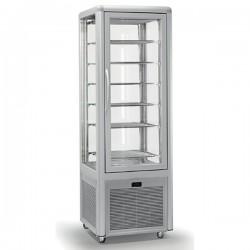 Vitrine réfrigérée positive - 4 faces vitrées - 360 L - SMART - SS350TN