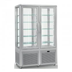 Vitrine réfrigérée positive - 4 faces vitrées - 742 L - SMART - SS700TN
