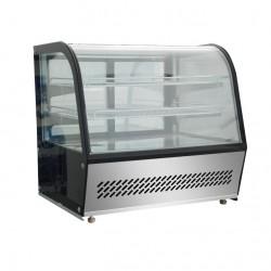 Vitrine réfrigérée ventilée - 160 L - HTR160