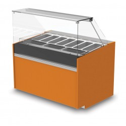 Vitrine réfrigérée ventilée - Version crèmes glacées - YRSG - Long. 1690 mm