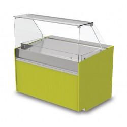 Vitrine réfrigérée ventilée - Version entremets glacés - YREG - Long. 1290 mm