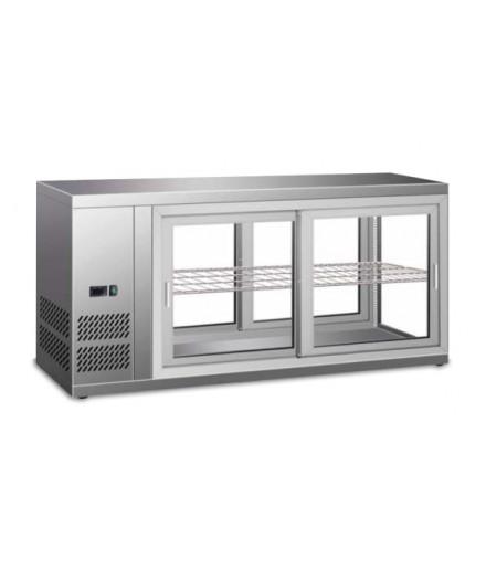 Vitrine réfrigérée positive - 150 L - HAV111