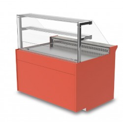 Vitrine réfrigérée - Ventilée sans réserve - KURS - Long. 2090 mm