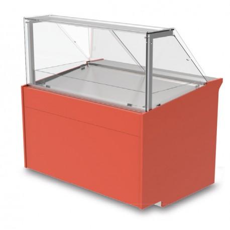 Vitrine réfrigérée ventilée - Version entremets glacés - KUREG - Long. 1290 mm