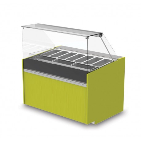 Vitrine réfrigérée négative - Version crèmes glacées - YSRSG - Long. 1290 mm
