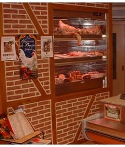 Vitrines niches réfrigérées à viandes et fromages