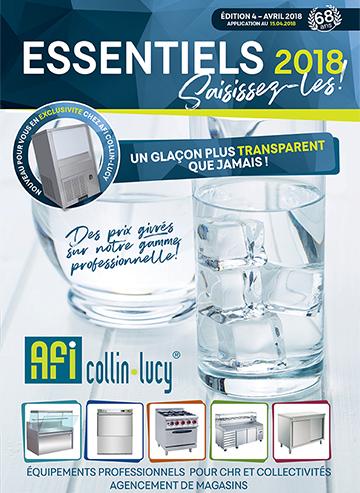 Catalogue les essentiels avril 2018