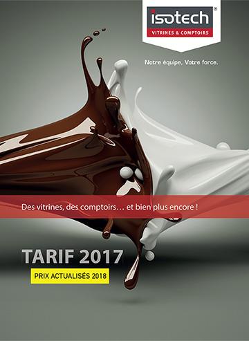 Tarif ISOTECH 2017